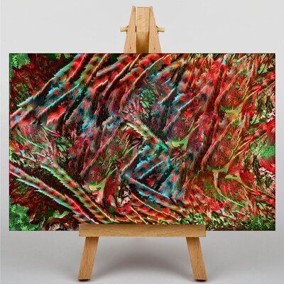 Big Box Art Abstract Forest Graphic Art on Canvas