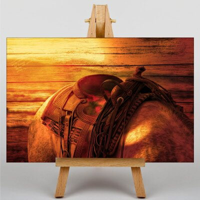Big Box Art Horse Back Graphic Art on Canvas