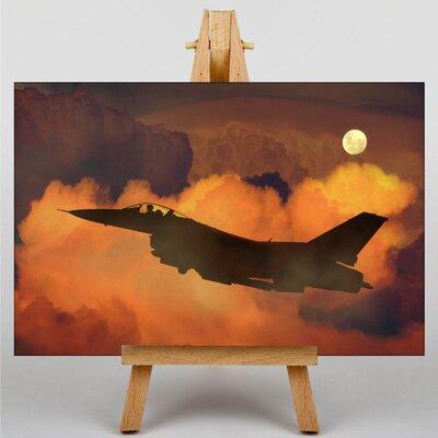 Big Box Art Fighter Jet No.2 Photographic Print on Canvas