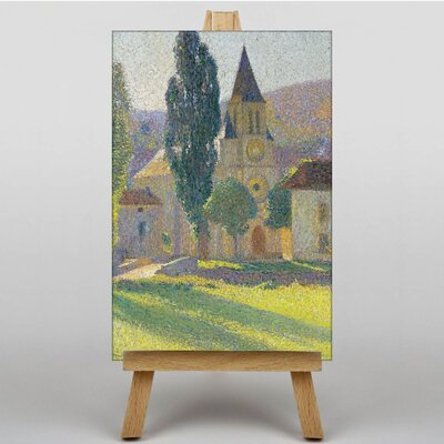 "Big Box Art ""The Church of Labastides"" by Henri Martin Graphic Art on Canvas"