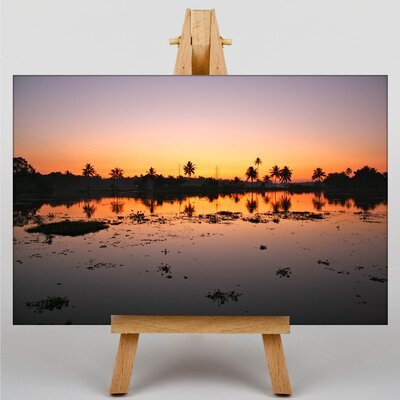 Big Box Art Evening Sunset No.8 Photographic Print on Canvas