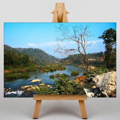Big Box Art Landscape Laos No.3 Photographic Print on Canvas