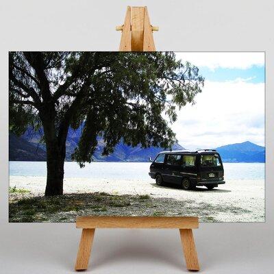 Big Box Art Camper Van No.1 Photographic Print on Canvas