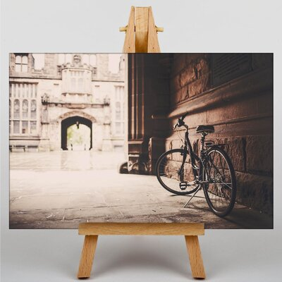 Big Box Art Bicycle Cycling Photographic Print Wrapped on Canvas
