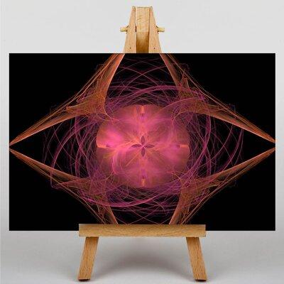 Big Box Art Fractal Abstract No.26 Graphic Art on Canvas