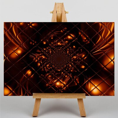 Big Box Art Fractal Abstract No.6 Graphic Art on Canvas