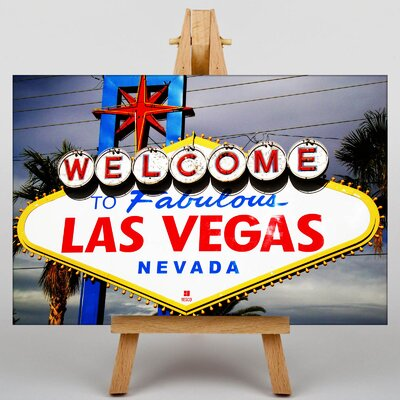 Big Box Art Las Vegas Sign No.2 Graphic Art on Canvas