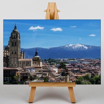 Big Box Art Madrid Spain Photographic Print on Canvas