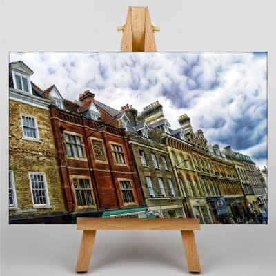 Big Box Art Buildings Cambridge Photographic Print Wrapped on Canvas