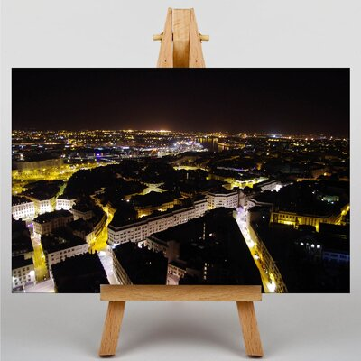Big Box Art Nantes France Photographic Print on Canvas
