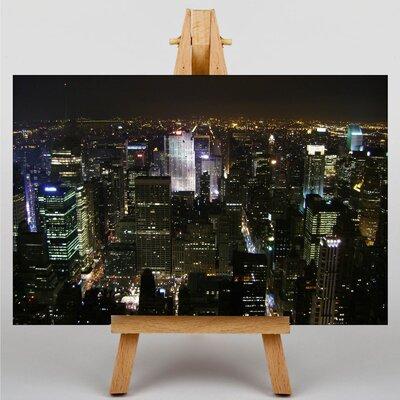 Big Box Art New York City Skyline USA No.4 Photographic Print on Canvas