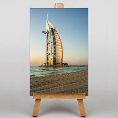 Big Box Art The Burj al Arab Dubai No.2 Photographic Print on Canvas