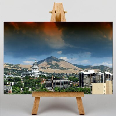 Big Box Art Salt Lake City Utah USA Photographic Print on Canvas