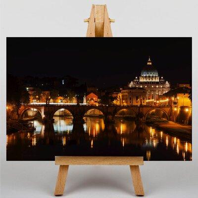 Big Box Art Saint Peters Basilica Rome Italy Photographic Print on Canvas