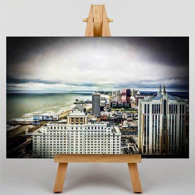 Big Box Art New Jersey Atlantic City USA Photographic Print on Canvas