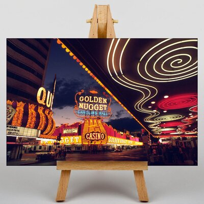 Big Box Art Las Vegas Strip Skyline Nevada USA No.9 Photographic Print on Canvas