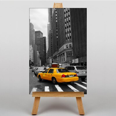 Big Box Art Taxi Cab New York City Photographic Print on Canvas