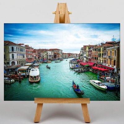 Big Box Art Gondolas Venice Italy No.6 Photographic Print on Canvas