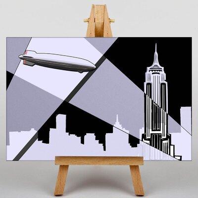 Big Box Art Empire State Building New York City No.3 Graphic Art on Canvas