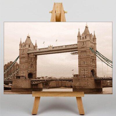 Big Box Art Tower bridge London Photographic Print on Canvas