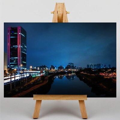 Big Box Art Sao Paulo Brazil Skyline Photographic Print on Canvas