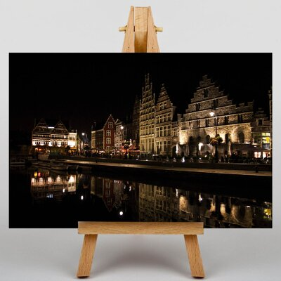 Big Box Art Ghent Belgium No.3 Photographic Print Wrapped on Canvas