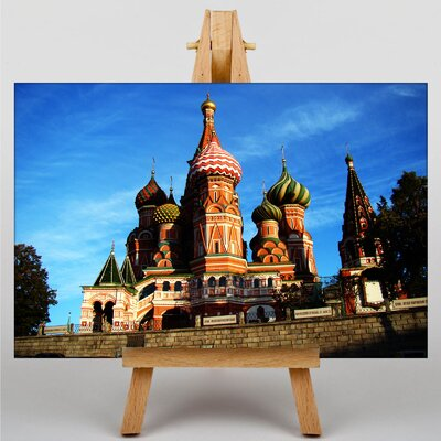 Big Box Art Saint Basils Cathedral Photographic Print on Canvas