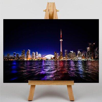 Big Box Art Toronto Skyline Canada Photographic Print on Canvas