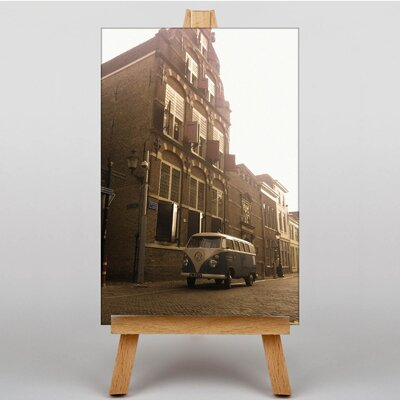 Big Box Art Camper Van No.3 Photographic Print Wrapped on Canvas