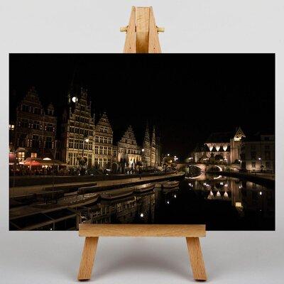 Big Box Art Ghent Belgium No.4 Photographic Print on Canvas