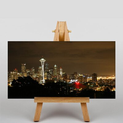Big Box Art Washington Seattle Skyline USA Photographic Print on Canvas