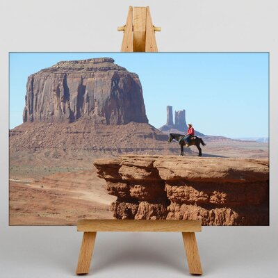 Big Box Art Cowboy Canyon Photographic Print on Canvas