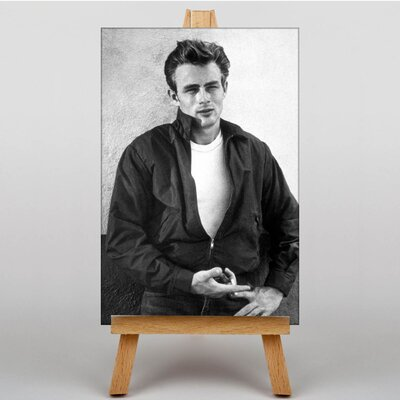 Big Box Art James Dean No.2 Photographic Print on Canvas
