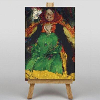 Big Box Art Russian Woman by Abram Arkhipov Art Print Wrapped on Canvas