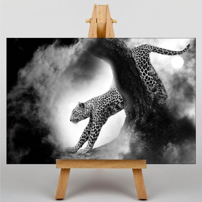 Big Box Art Leopard Graphic Art on Canvas