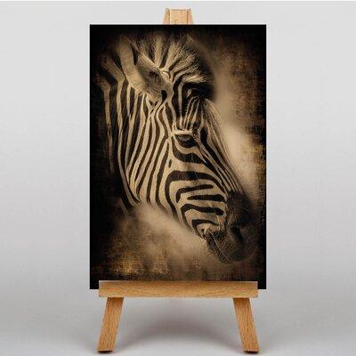 Big Box Art Zebra Face Graphic Art on Canvas