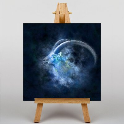 Big Box Art Capricorn Astrology Zodiac Graphic Art on Canvas