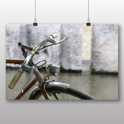 Big Box Art 'Vintage Bicycle No.2' Photographic Print
