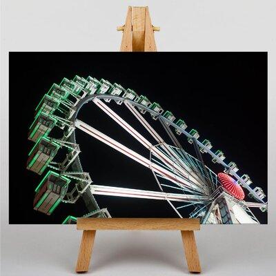 Big Box Art Ferris Wheel Fair Carnival No.2 Graphic Art on Canvas