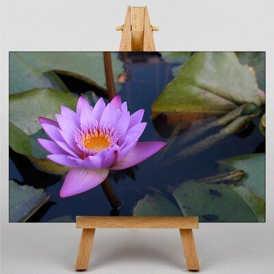 Big Box Art Lotus Flower No.2 Photographic Print Wrapped on Canvas