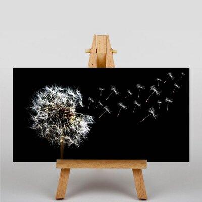 Big Box Art Dandelion Seeds Flower No.3 Graphic Art on Canvas