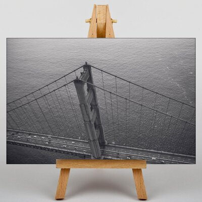 Big Box Art Golden Gate Bridge San Francisco No.3 Photographic Print on Canvas