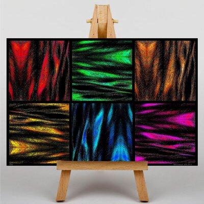 Big Box Art Abstract No.4 Graphic Art on Canvas
