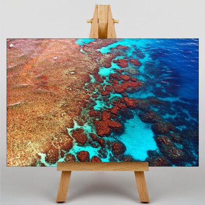 Big Box Art Coral Great Barrier Reef No.2 Photographic Print on Canvas