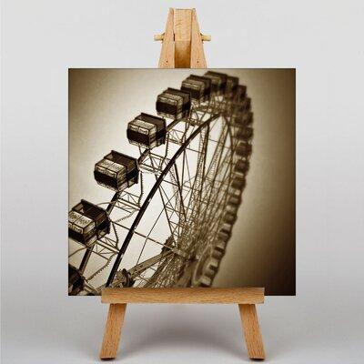 Big Box Art Ferris Wheel Fair Carnival No.4 Photographic Print on Canvas