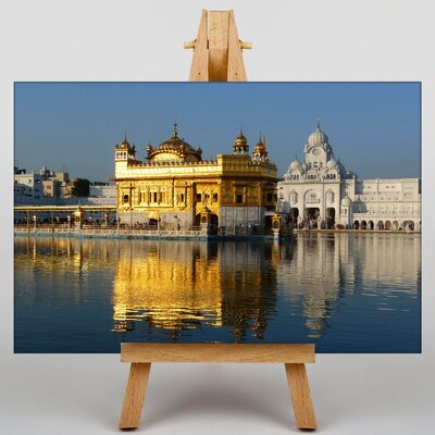 Big Box Art Golden Temple Amritsar India Photographic Print on Canvas