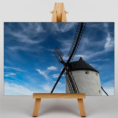 Big Box Art Windmill No.2 Photographic Print Wrapped on Canvas