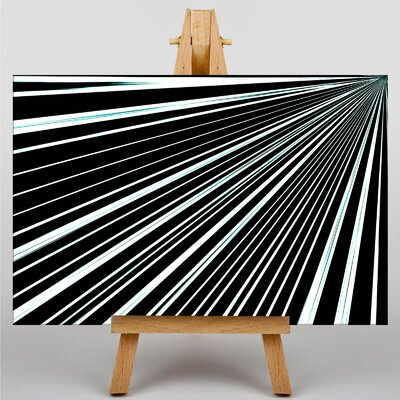 Big Box Art Abstract Stripes Graphic Art on Canvas