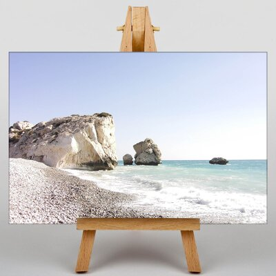 Big Box Art Cyprus Beach Photographic Print on Canvas
