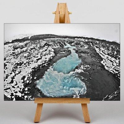 Big Box Art Iceland Landscape No.6 Photographic Print on Canvas